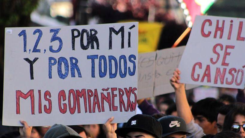 Mario Garcés: Octubre de 2019-Estallido social en el Chile neoliberal
